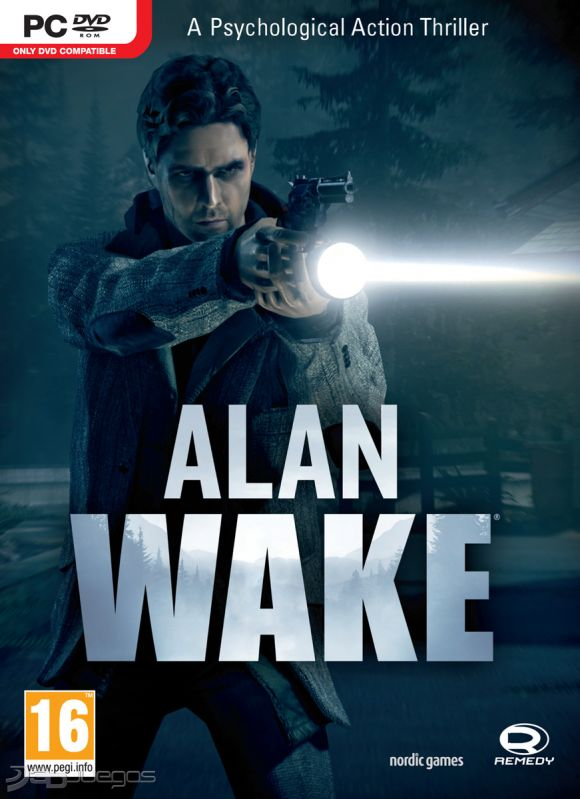Car�tula de Alan Wake