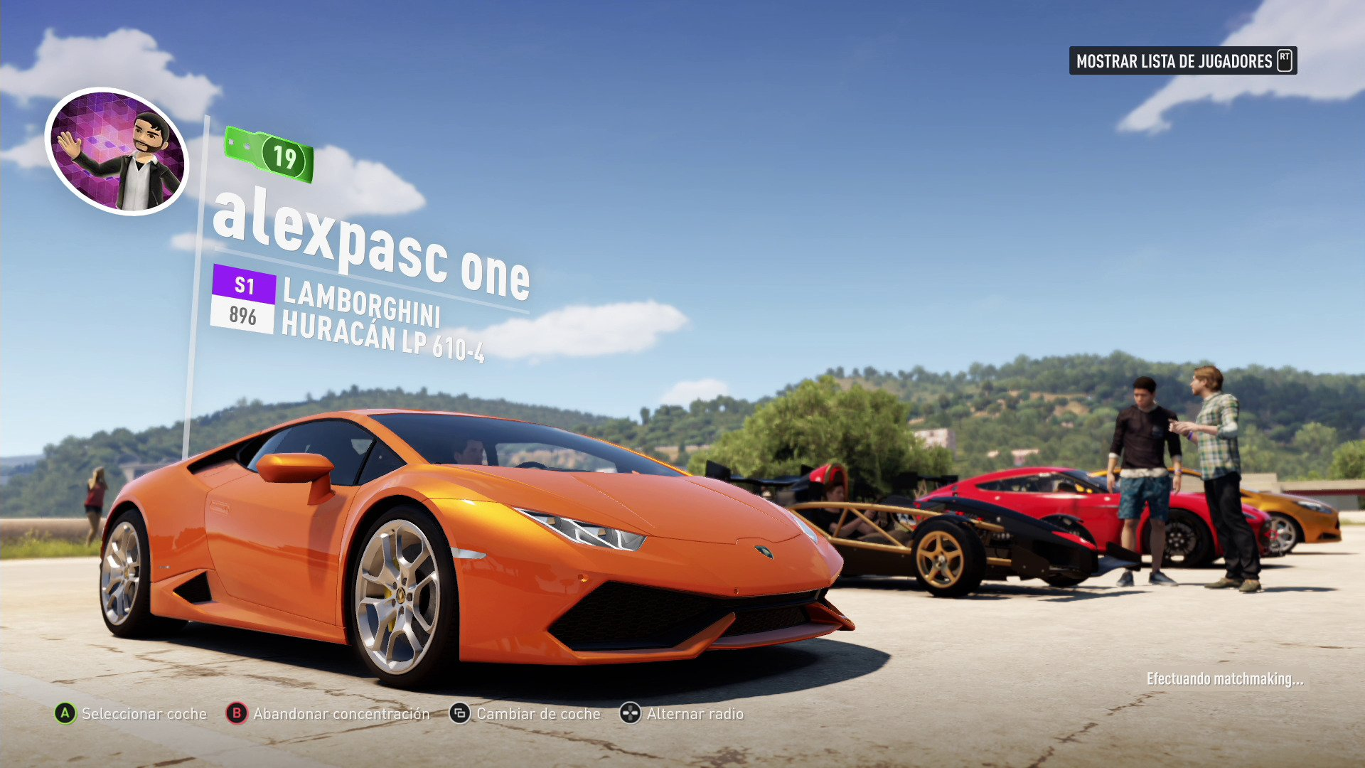 forza horizon 2 xbox one 3djuegos. Black Bedroom Furniture Sets. Home Design Ideas