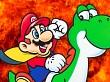 Eufórica reacción al superar un nivel imposible de Super Mario Maker