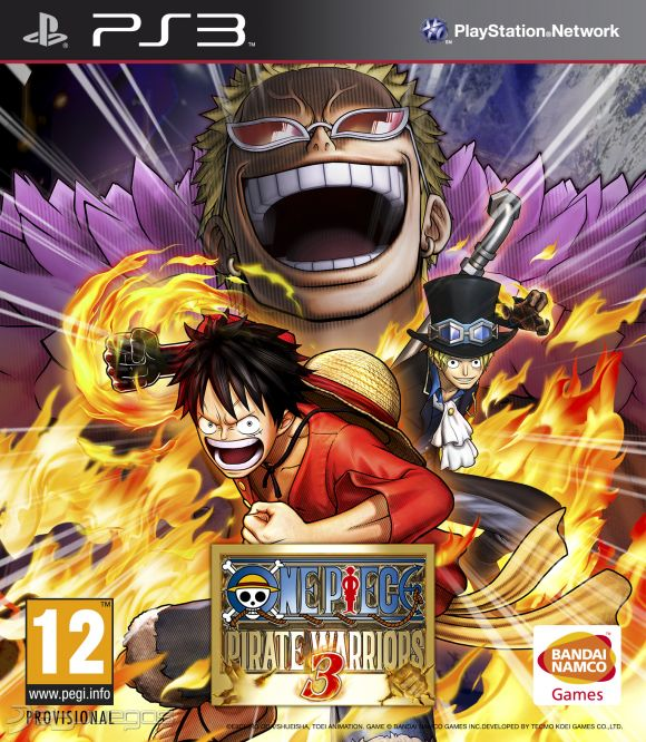 One piece pirate warriors 3 para ps3 3djuegos for One piece juego