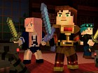Pantalla Minecraft: Story Mode