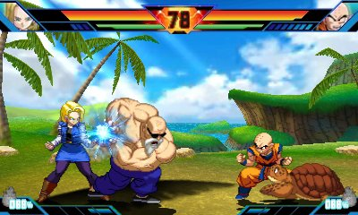Dragon ball z fighting game snes