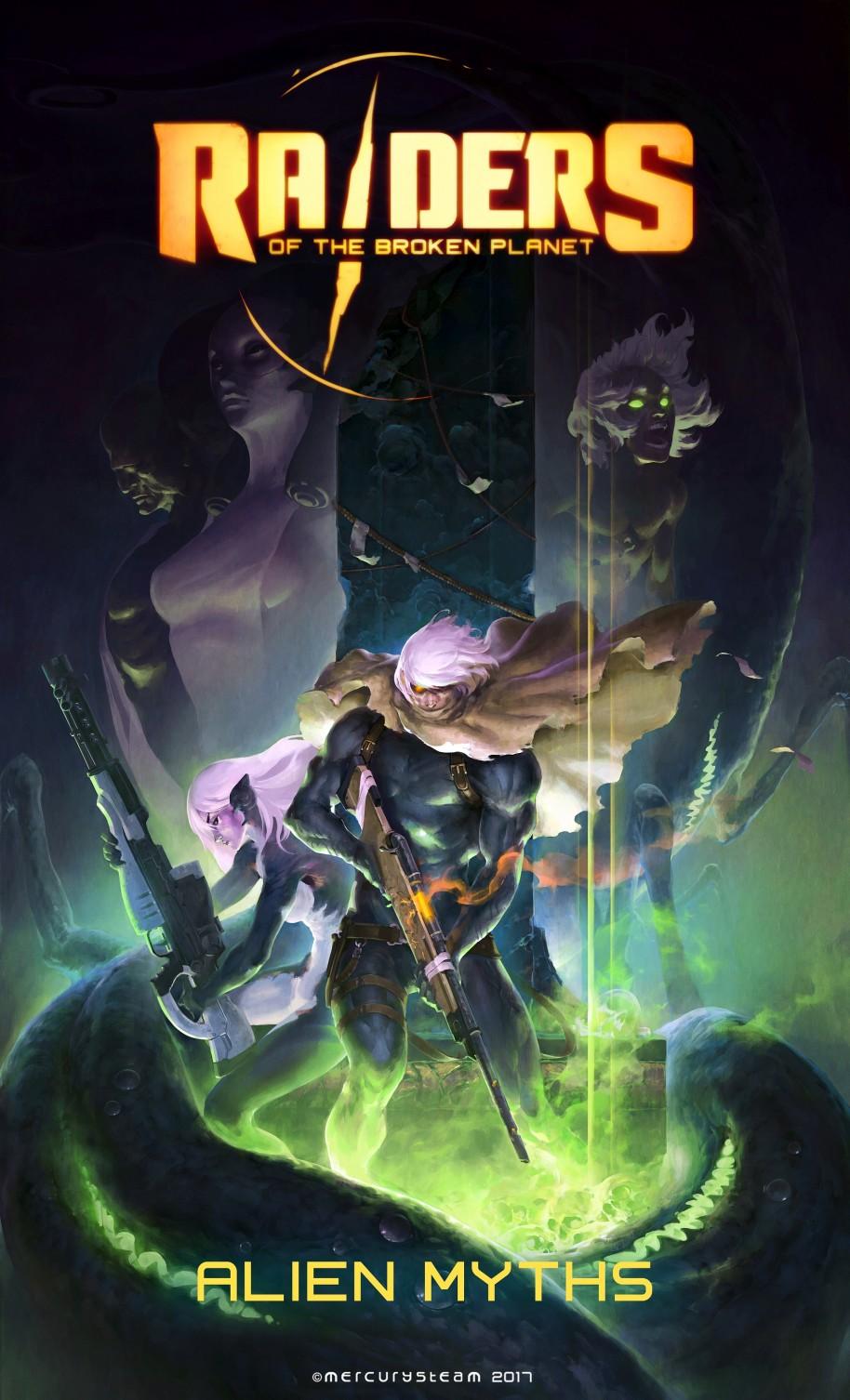 Raiders of the Broken Planet: Raiders of the Broken Planet, la nueva visión de Mercury Steam