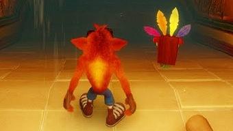 Video Crash Bandicoot: N. Sane Trilogy, Demo Gameplay: Tomb Wader
