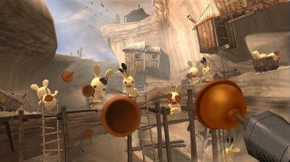 Rayman Raving Rabbids (Nintendo Wii)