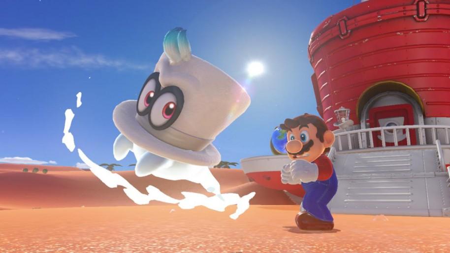 Super Mario Odyssey: Licencia para soñar