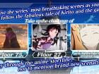Pantalla Sword Art Online: Memory Defrag