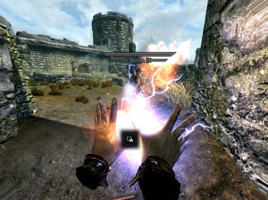 The Elder Scrolls V Skyrim - VR análisis