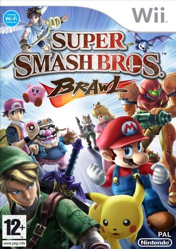 Car�tula de Super Smash Bros. Brawl