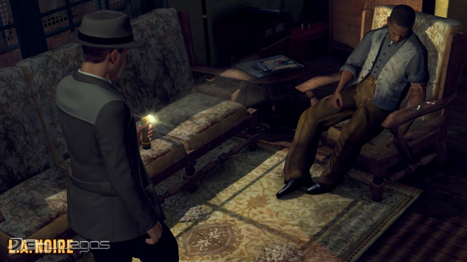 New L.A. Noire in-game screenshots, artwork and images galleries for