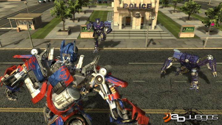 transformers the game juego pc 3djuegos. Black Bedroom Furniture Sets. Home Design Ideas