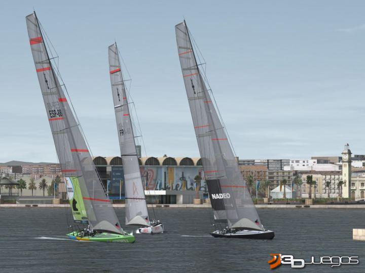 Скачать бесплатно компьютерную игру гонки на яхтах регата Virtual Skipper 5 Русская лице