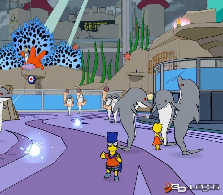 Los simpson el videojuego juego ps2 3djuegos - Jeux de lisa simpson ...