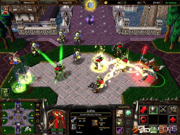 Warcraft 3 Frozen Throne En Espanol