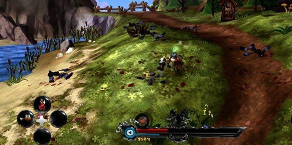 DeathSpank Xbox 360