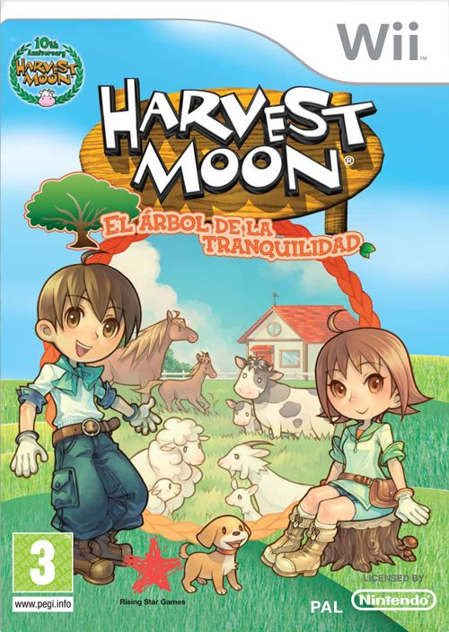 Car�tula de Harvest Moon: Tree of Tranquility