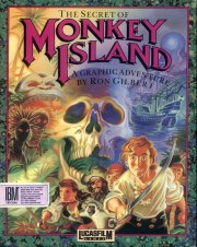 Cartula oficial de Monkey Island PC