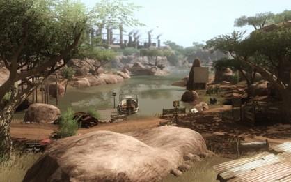 África nunca había sido tan bella como en Far Cry 2. Los viajes en jeep se hacían interminables para algunos usuarios, pero con paisajes tan espectaculares como éstos acababan siendo un mal menor.