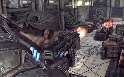 """El multijugador de la saga Gears of War se ve ensombrecido por lo que vulgarmente se conoce como """"la ventaja del host"""". Un desagradable elemento que hace que, en ocasiones, parezca que las balas del que crea la partida van más rápido que las de sus rivales."""