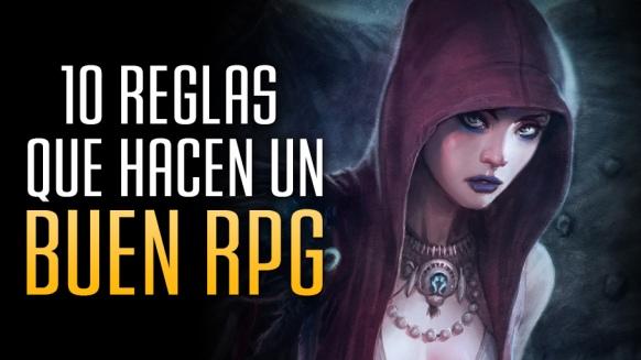 Reportaje de 10 reglas que hacen un buen RPG