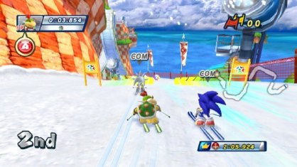 Mario y Sonic Juegos de Invierno (Nintendo Wii)