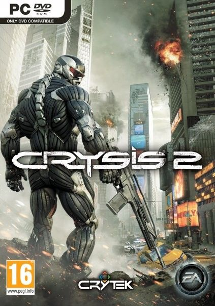 Car�tula de Crysis 2