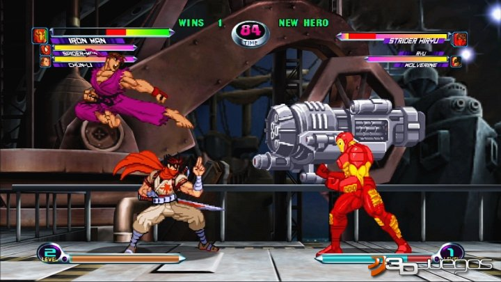 Marvel vs. Capcom 2 - Impresiones Captivate 09