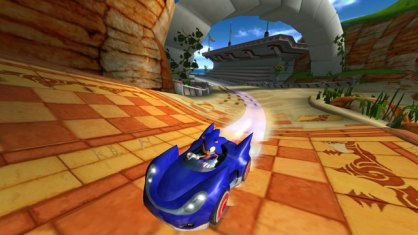 Sonic & Sega All Stars Racing (Nintendo Wii)