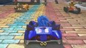Video Sonic & Sega All Stars Racing - Gameplay 3: Castillo tempestuoso