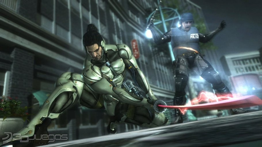 Imagen Metal Gear Rising  Revengeance  PS3 Metal Gear Rising Revengeance Cover Ps3
