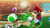 Video Super Mario Galaxy 2 - Gameplay: La astronave de Mario