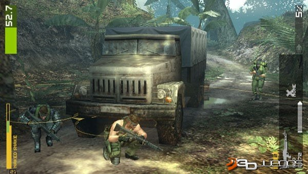 Metal Gear Solid Peace Walker - Impresiones jugables