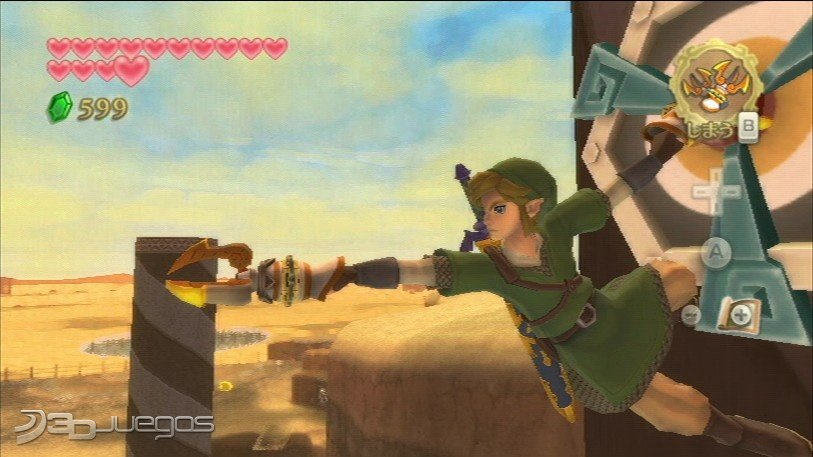 Zelda Skyward Sword - Avance TGS 2011