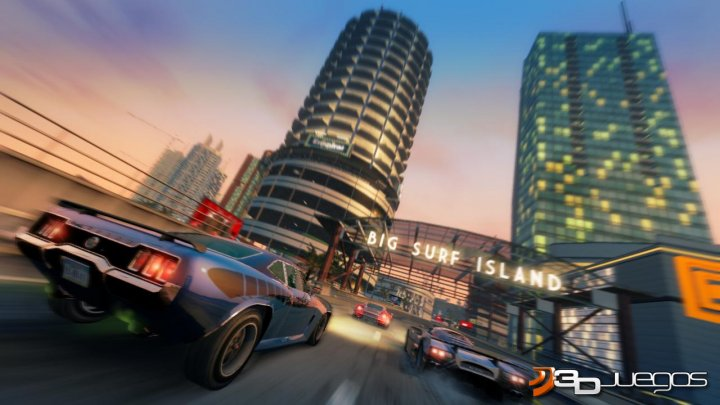 Burnout Paradise Big Surf Island - An�lisis