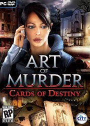 Cartula oficial de Art of Murder: Cards of Destiny PC
