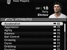 FIFA Manager 10 - Pantalla