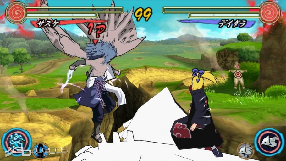 Naruto Ultimate Ninja Heroes 3 - An�lisis