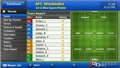 Football Manager Handheld 2010 - An�lisis