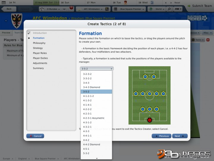 Football Manager 2010 - Impresiones jugables
