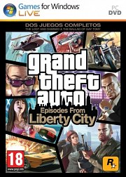 Car�tula oficial de GTA: Episodes From Liberty City PC