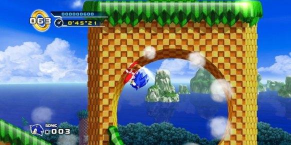 Sonic 4 Episode 1 (Nintendo Wii)
