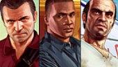 Video Grand Theft Auto V - Michael. Franklin. Trevor.
