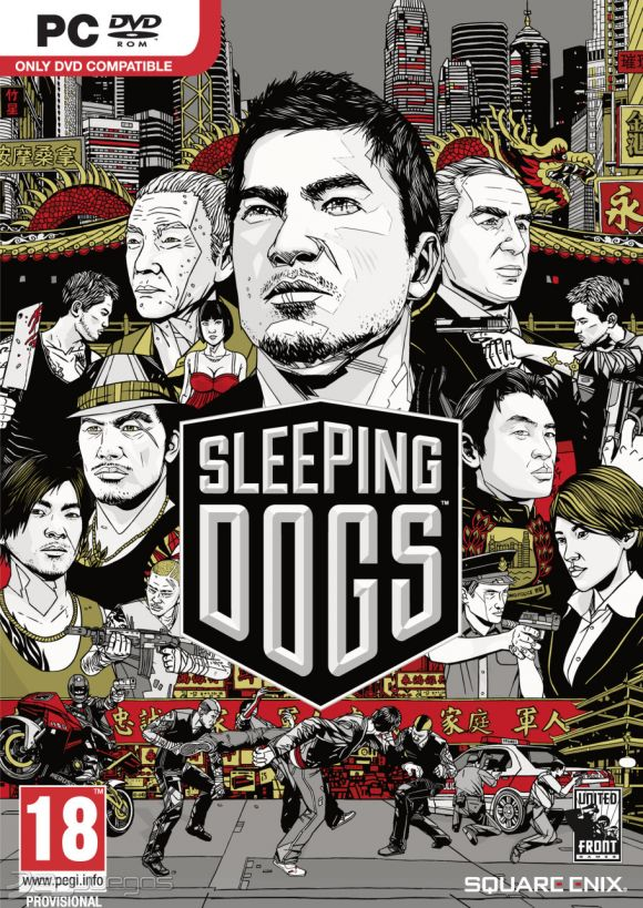 Car�tula de Sleeping Dogs