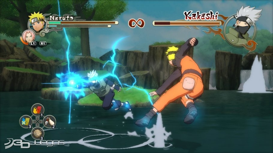 Naruto Ultimate Ninja Storm 2 - Impresiones jugables