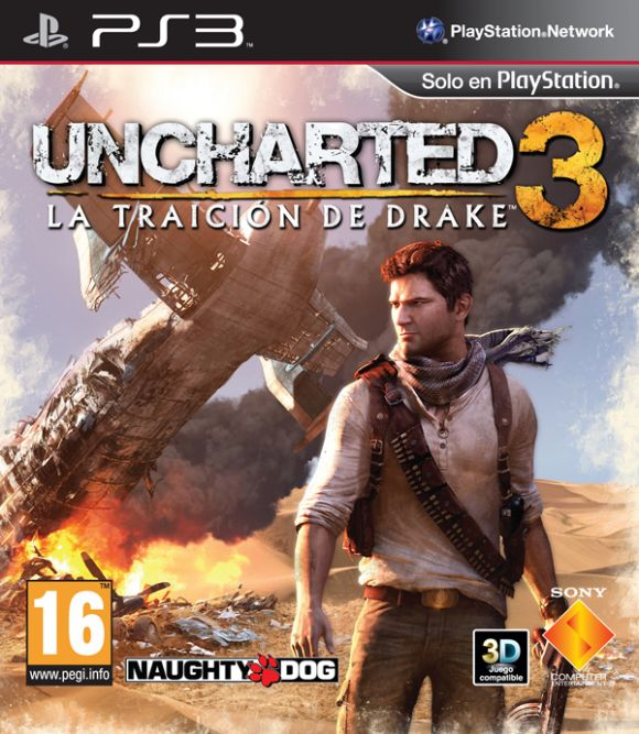 Uncharted 3 [PS3][EUR][RIP][4.xx][Mega+]