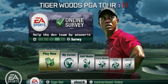 Tiger Woods PGA Tour 11 an�lisis