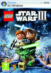 Car�tula oficial de LEGO Star Wars III PC