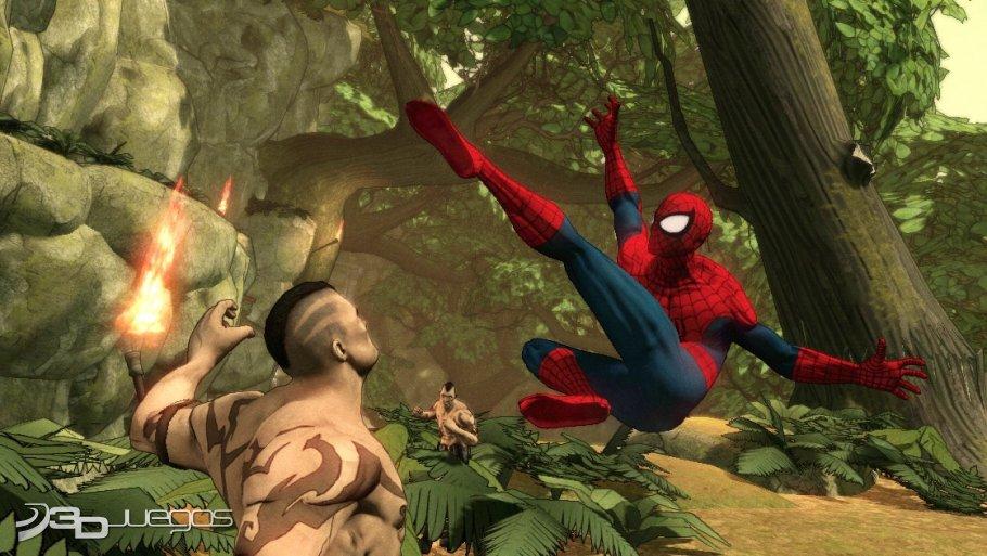 Spider-Man Dimensions - Primer contacto