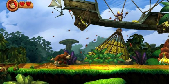 Donkey Kong Country Returns an�lisis