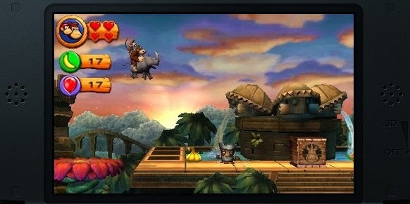 Donkey Kong Country 3D (Nintendo 3DS)